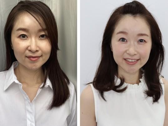 【顔タイプ診断】魅力を引き出しオフィスで印象美人にの画像