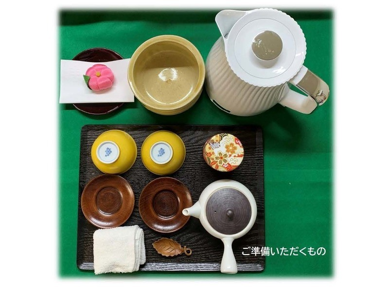 日本茶のゆるマナー講座 ポット手前 の画像