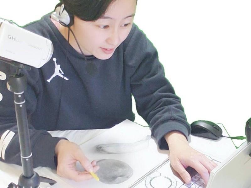 【オンライン開催】小学生のためのデッサンクラスの画像