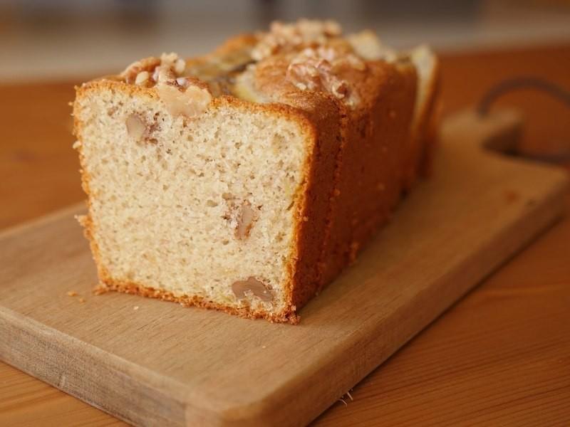 米粉で作るグルテンフリー、しっとりふんわりバナナブレッドを作ろう!の画像