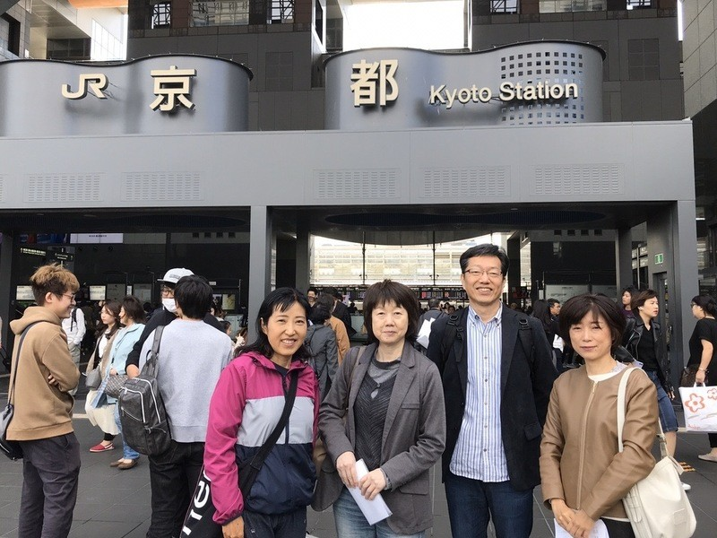 京都駅をぐるっと2時間回りながら、中国語の会話を学びましょう。の画像