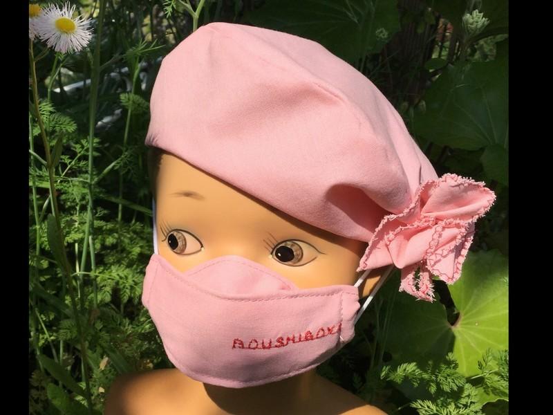 折り紙感覚で楽しみながら作る立体マスクの画像