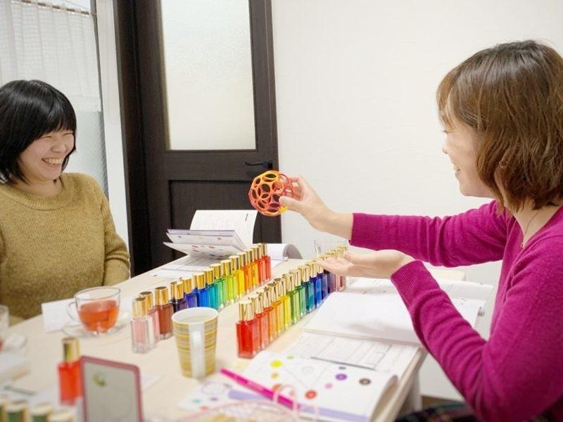 1日で資格取得色彩心理カウンセリング/TCカラーセラピスト認定講座の画像