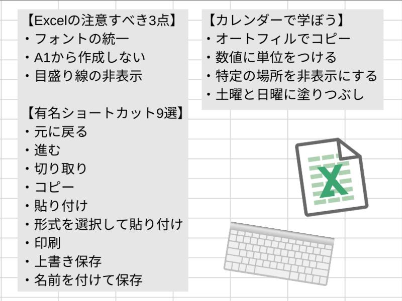 Excelで周りと差をつけろ!役に立つ機能やすぐ使える時短術を学ぶの画像