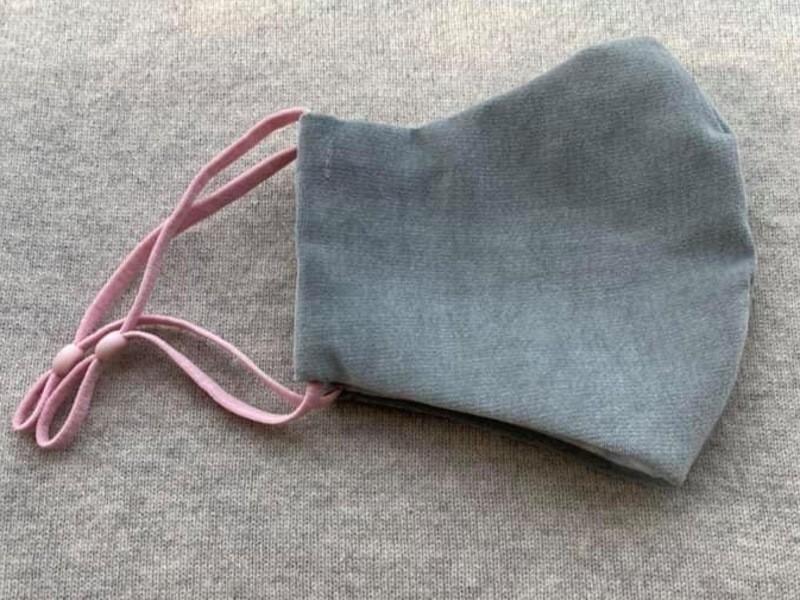 冬コーデにぴったり、あったか冬マスクを手縫いで作るの画像