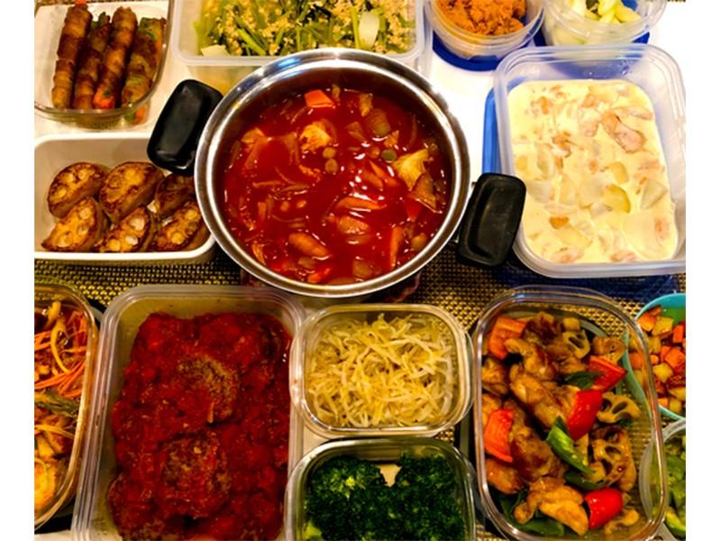 【オンライン♪】1時間で今日の夕飯5品 (1汁4菜)を作る料理講座の画像