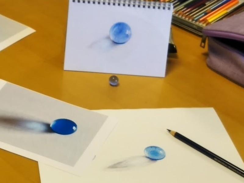 5回のZoom講座で 基本を学んで下絵から絵が描けるようなるの画像