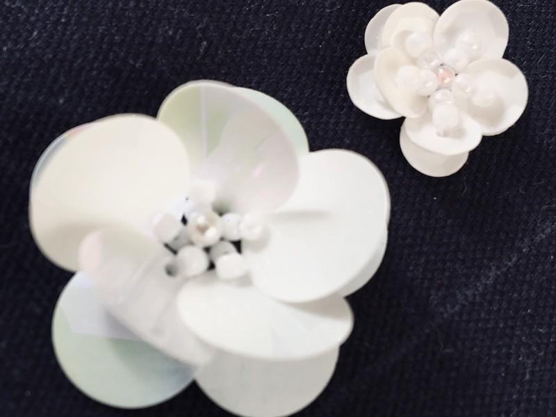 【オンライン 初心者・お子様歓迎】基本のビーズ刺繍ステッチ9種類!の画像