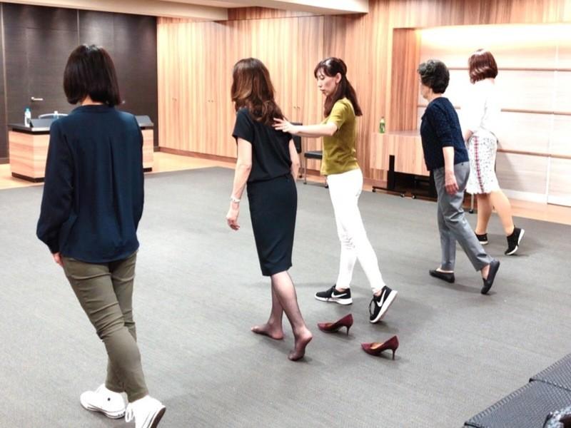 【美脚師®が伝授】美脚になる歩き方が身につくウォーキングレッスンの画像