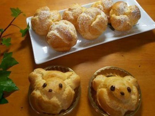北鎌倉・大船お菓子教室 シュークリーム、エンジェルケーキ講座の画像