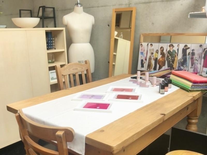 現役デザイナーがアドバイス♡骨格スタイル&パーソナルカラーレッスンの画像