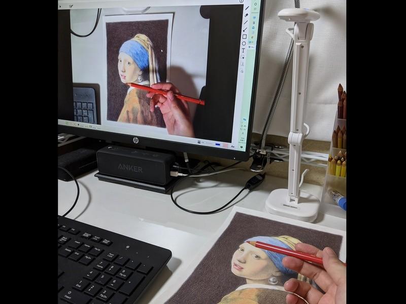 【単発】塗り絵から始める色鉛筆のアートレッスン☆マンツーマンの画像