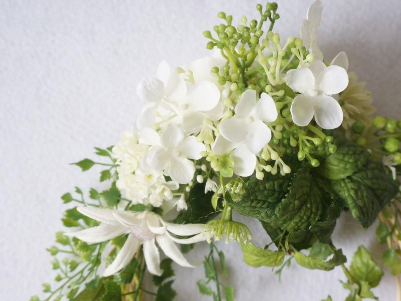 【初心者歓迎】素敵に、簡単に作れる☆お花を選べるフラワーリース講座の画像