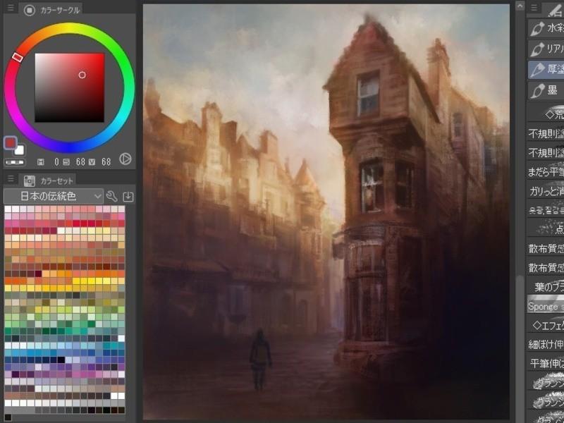 iPadを使う方専用 デジタルアート///油彩画家が教えますの画像