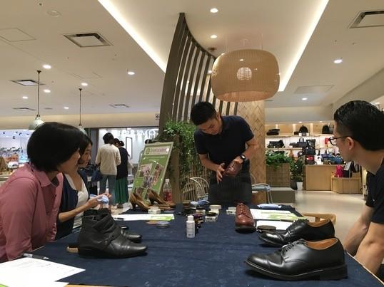【博多マルイ開催】誰でもかんたん!ピカピカ&長持ち!靴磨き講座の画像
