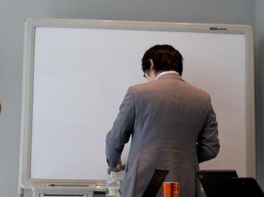 マンツーマンで上手に自分を振り返る「リフレクション」講座の画像