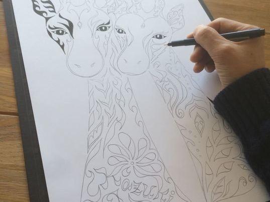 だれでも手軽にできる!ペンで描く模様のアート(初めて編)の画像