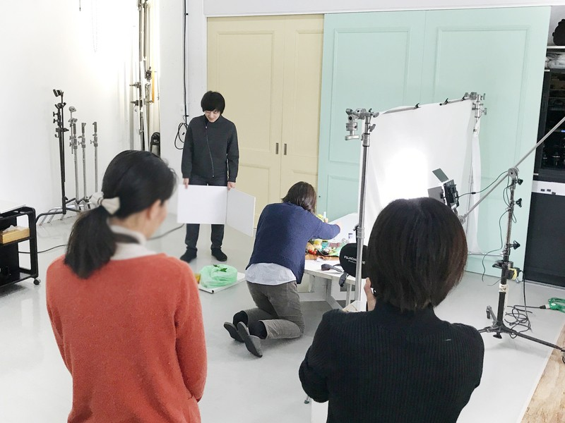 ②カメラの基本を覚えて、スタジオで実践撮影(大阪市内)の画像