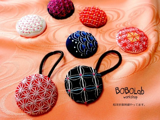 【特別企画】和洋折衷刺繍で楽しむ和小物♡の画像
