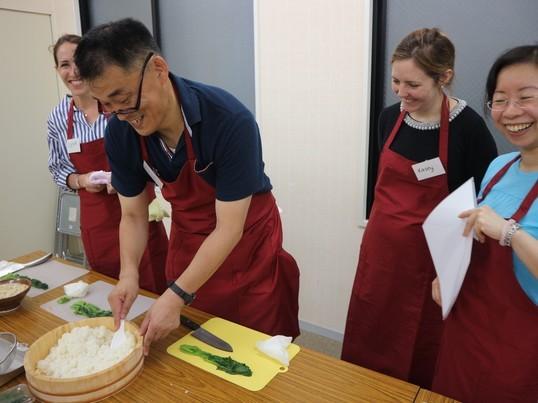 英語で料理教室@浅草の画像