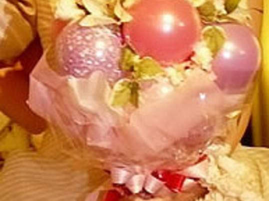 ご自身、ご友人の結婚式に。バルーンウェディングブーケを作りましょうの画像