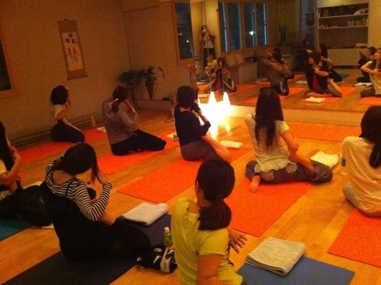 【女性らしい身体を作る】運動・食事・アロマの集中レッスン@六本木の画像