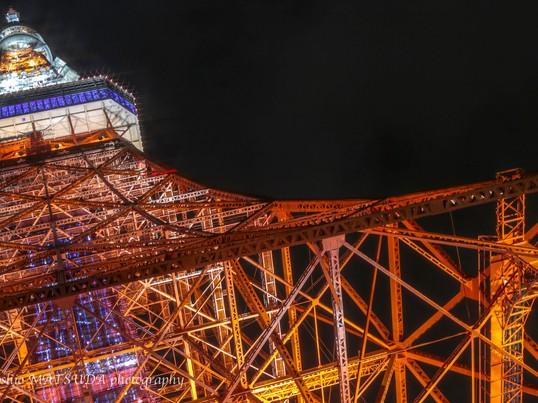 初心者撮影教室東京タワーを洒落に撮影の画像