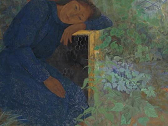 日本画 体験教室の画像