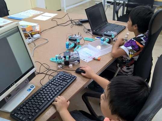 小学生から始めるロボットプログラミング(体験編)の画像