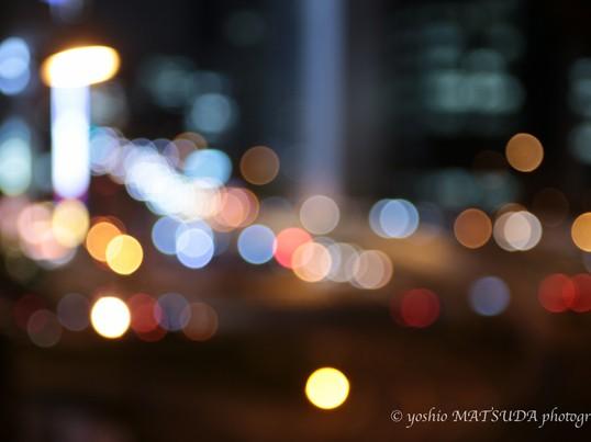 夜の銀座をお洒落に撮影。夜景女子カメラ写真教室の画像