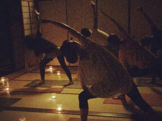 癒しのキャンドルナイト 〜寺ヨガ〜の画像