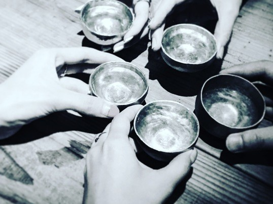錫でオリジナル酒器(お猪口)を作って乾杯っ!の画像