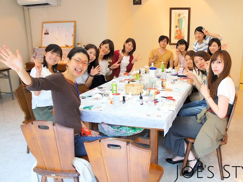 茨城県牛久‼ガラスカボションアクセサリーをつくりませんか?の画像