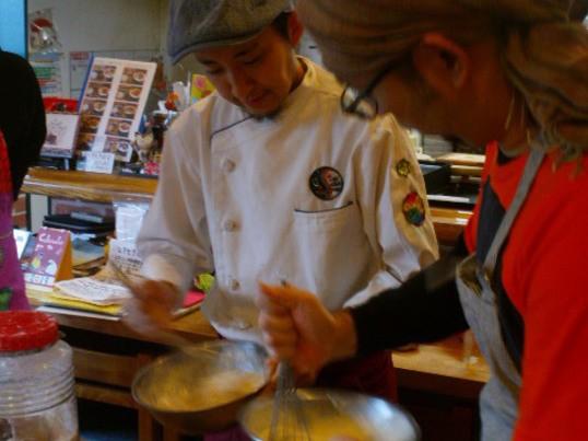 料理教室・外はかりかり中はほんわり関西風好み焼き教室の画像
