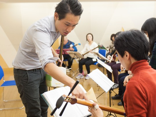 楽しく和楽器体験!三味線であの曲を弾いてみよう!☆経験者向け講座☆の画像