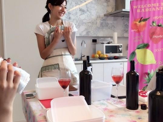 ホームパーティーで大人気!素敵なフルーツカッティング♡の画像