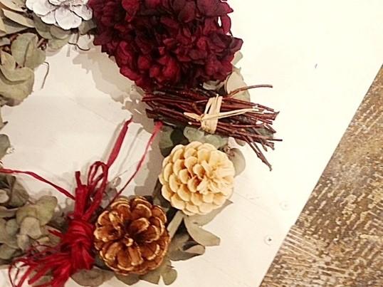 2016年クリスマス限定「生ユーカリの香るクリスマススワッグ☆」の画像