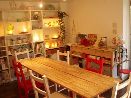 【照明だって手作りできる!】和紙で作るハートランプ 東京自由ヶ丘 の画像