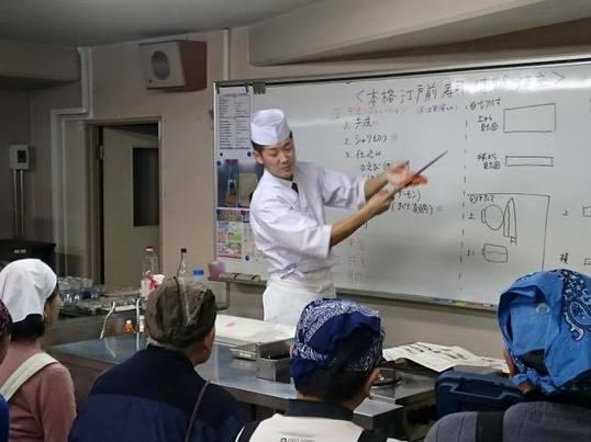 築地で旬の魚を食べつくす! すし・和食講座の画像