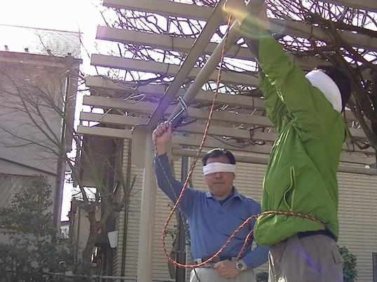 災害時などに役立つロープを使ったロープ・タクテクスの簡単講座!の画像