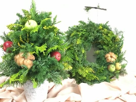 【博多マルイ開催】手作り♡クリスマスリースの画像