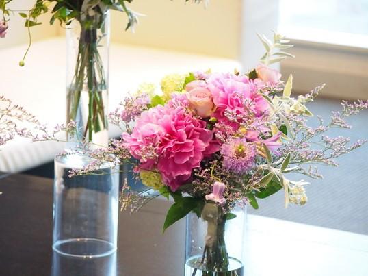 季節の生花でつくる基本のフラワーアレンジメント講座の画像