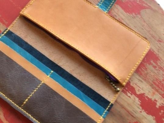 【レザークラフト】手縫いでつくる長財布の画像