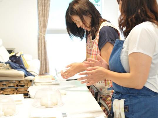 〈基礎から学ぶ〉初心者大歓迎!ハムロールコーンパンを作ってみよう!の画像