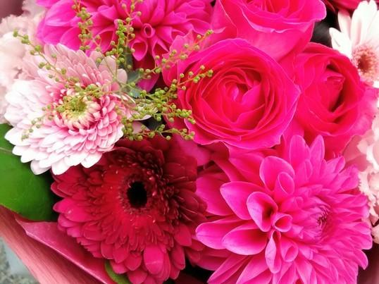 《海外仕込み&いけばな師範フローリストの花束レッスン※日本語》の画像