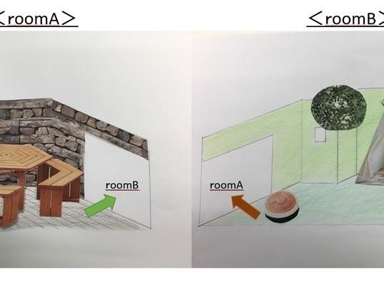 【戸建てで行う第3回DIY】(貼って剥がせる壁紙体験)の画像