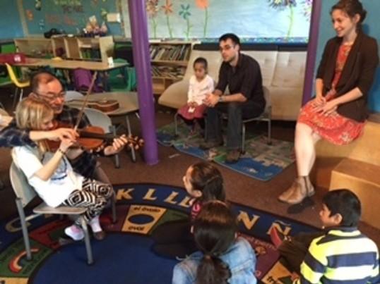 はじめてのバイオリン体験(小学生以下の児童)の画像
