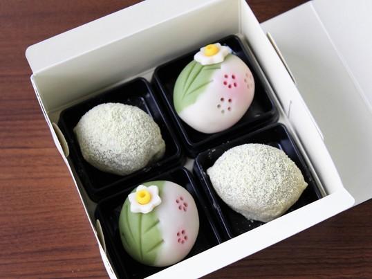 春の訪れを感じる和菓子「うぐいす餅」とかわいい練り切りを作ろう♪の画像