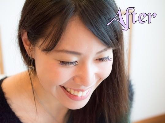 美容師が教えるセルフマツエク装着レッスンの画像