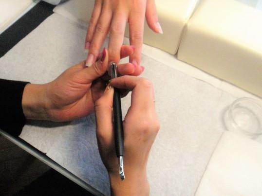 育てる美爪。自分で出来ます。ネイルケア2時間の画像